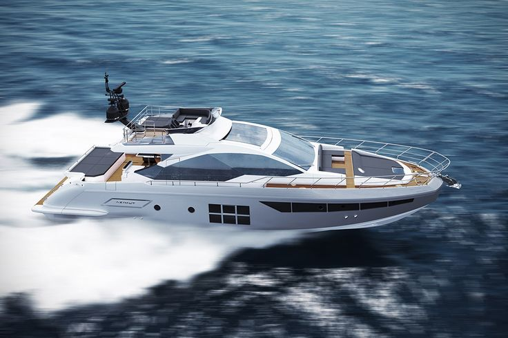 Built from a mix of carbon fiber and glass to keep the displacement down, the Azimut S7 Yacht is as notable for its ease of operation as it is its performance. A triple Volvo IPS propulsion system makes possible a...