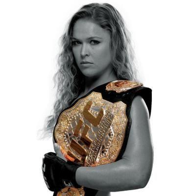 Ronda Rousey UFC Women's Bantamweight Champion