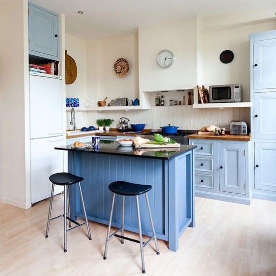 painted country kitchenDesign Inspiration, The Design, Design Interiors, Kitchens Ideas, Blue Kitchens, Country Kitchens, Painting Kitchens, Kitchens Makeovers, Colours Kitchens