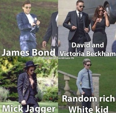Louis Tomlinson, Liam Payne And Sophia Smith, Harry Styles, And Niall Horan