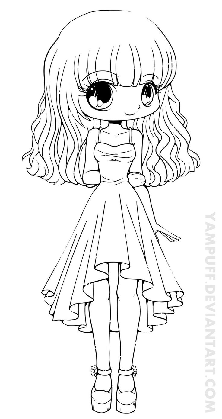Teej Chibi Lineart Commission By YamPuff On DeviantART Super Cute