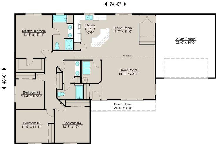 Lexar Homes 2112 Floor Plan Lexar Dream Home