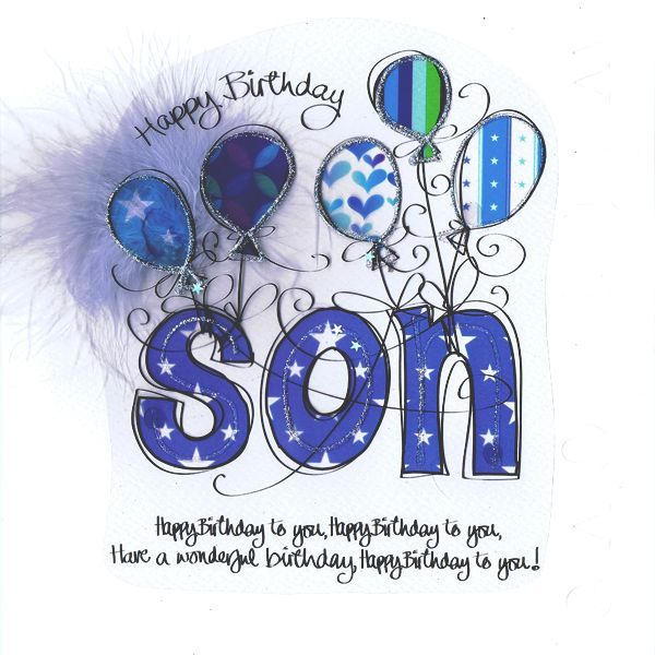 17 Best ideas about Happy Birthday Son – Birthday Card for My Son