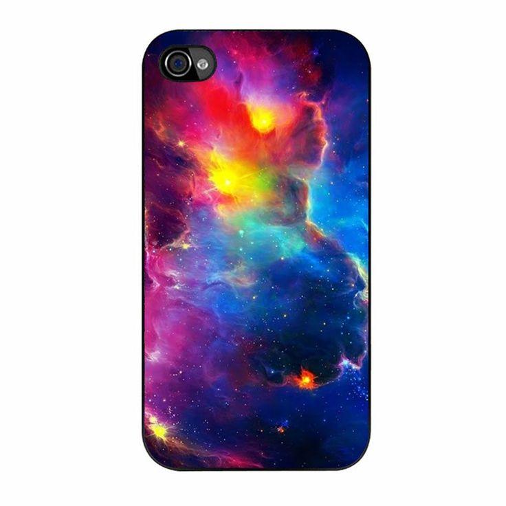 Nebula Rainbow Space iPhone 4/4s Case