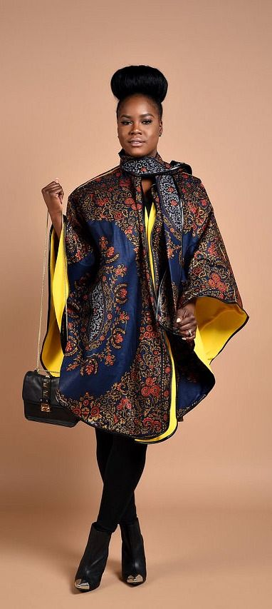 Rahyma Royal Java Poncho. *Luxury has arrived with this comfortable Unisex African print Poncho, fully lined with cashmere to keep you warm. Wear it over a coat or a sweater. Ankara | Dutch wax | Kente | Kitenge | Dashiki | African print dress | African fashion | African women dresses | African prints | Nigerian style | Ghanaian fashion | Senegal fashion | Kenya fashion | Nigerian fashion | Ankara summer dress (affiliate)
