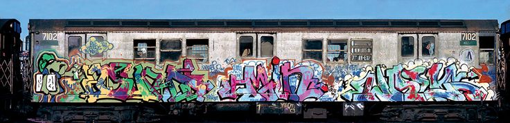 Martha Cooper and Henry Chalfant's Subway Art is the bible of graffiti art in New York City.