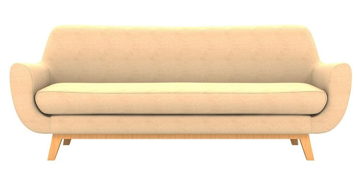 Brosa Filip 3 Seater Designer Lounge - Sandstone | $1,099.00