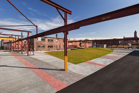 The Steel Yard | Providence USA | Klopfer Martin Design Group World Landscape Architecture