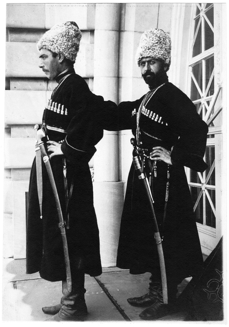 Two Cossack of the Russian Imperial Army, before 1917