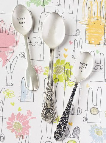 'Baby Girl' Coffee Spoon