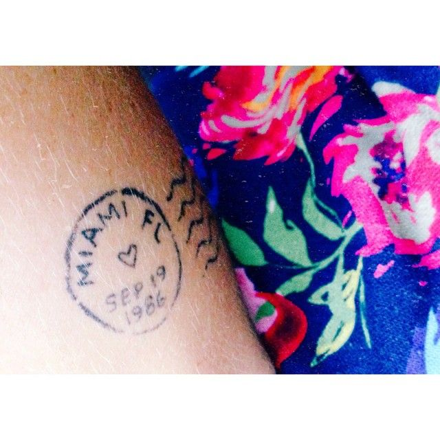 Pin for Later: 40 Tiny Tattoos For Travel-Lovers Stamp of Approval