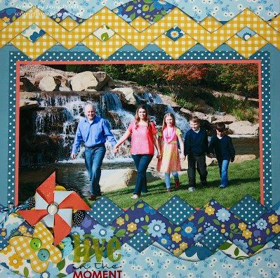 Scraps of Mine: Kiwi Lane January Blog Hop FAMILY 1-PAGE LAYOUT