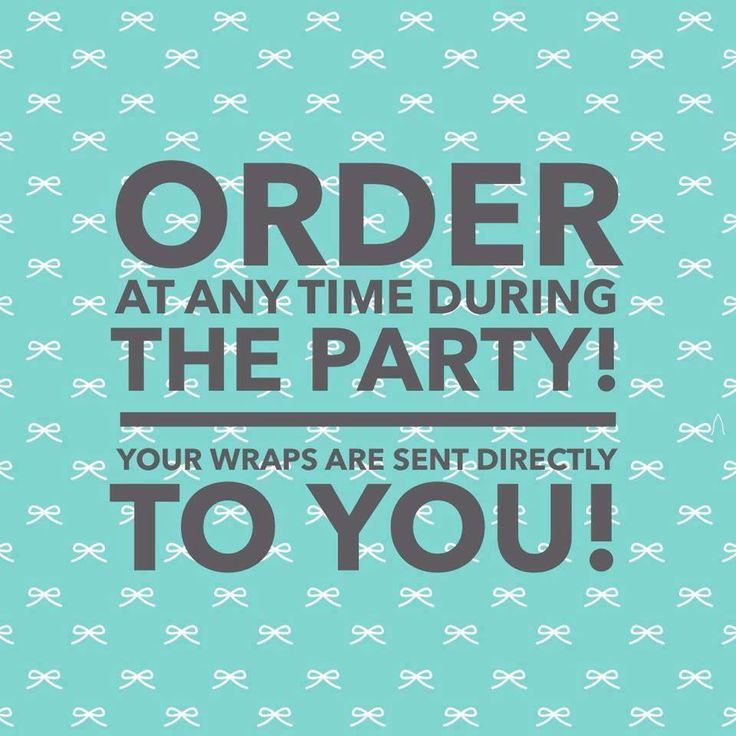 With Jamberry, you don't have to wait until the party ends! Your order processes when you make it!