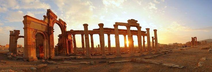 Прекрасная «невеста пустыни»: античный город Пальмира (Сирия)