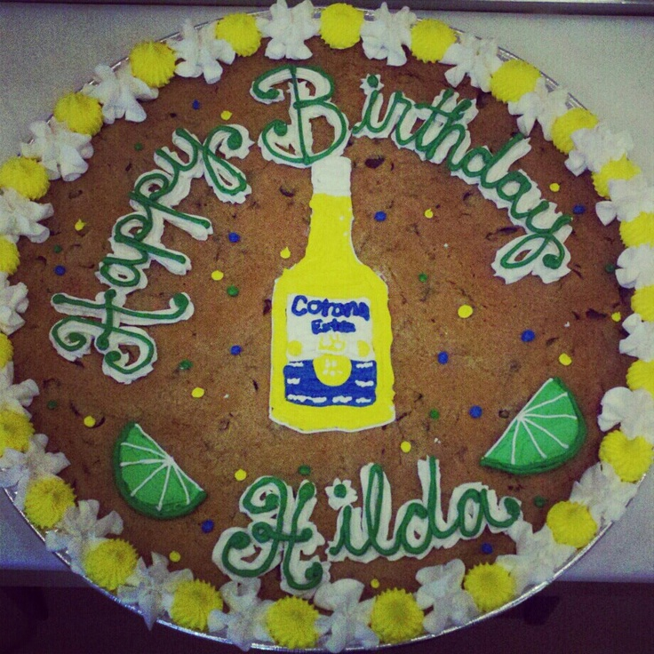 86 Best Images About Cookie Cake Ideas On Pinterest