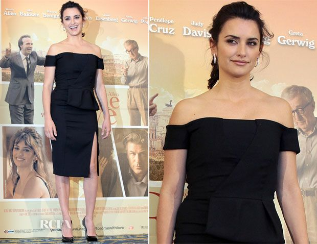 Penelope Cruz In Emilio Pucci - To Rome With Love Rome Photocall