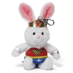 Comics Backpack Clip Wonder Woman Anya Anya dressed as Wonder Woman. Accurate superhero costumes sure to please comic book enthusiasts. Sturdy metal clip allows you to take her on the go. http://awsomegadgetsandtoysforgirlsandboys.com/gund-superhero/ Gund Superhero: Comics Backpack Clip Wonder Woman Anya