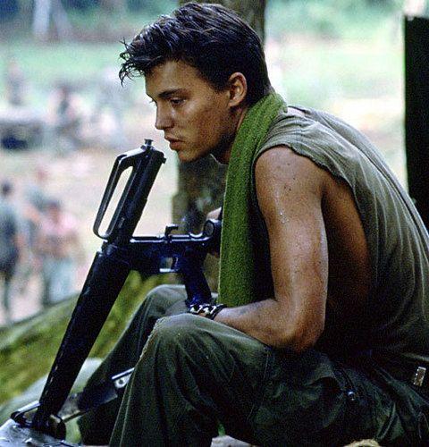 Johnny Depp- Platoon - johnny-depp Photo