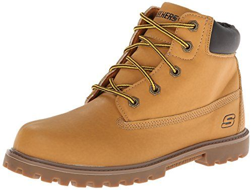 Skechers Kids Mecca Bunkhouse Classic Lace Boot * Want additional info? Click on the image.