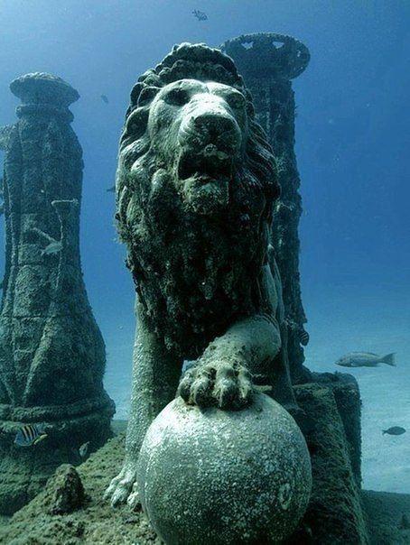 Подводный дворец Клеопатры, Египет