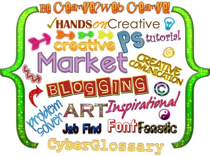Be Creative?Web Creative!: ✐ Argomenti del Blog