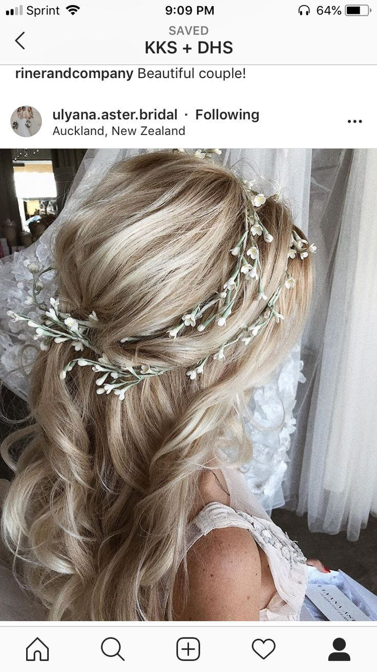 Wedding hair inpso | Bridesmaid hair - Hairstyles - #Bridesmaid hair #hairs ... - #Bridesmaid hair #Hairs