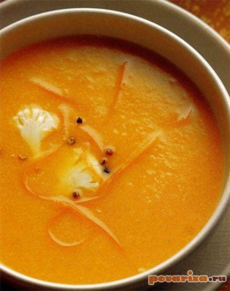 Суп пюре из цветной капусты детский
