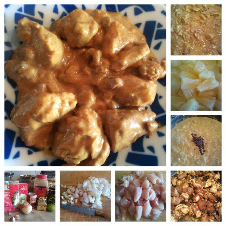 El festín de Marga: Curry madrás con pollo
