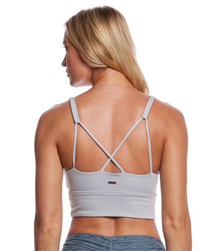 Support meets style with this Lyneah Yoga Bralette. A cropped design and strappy details bring on-trend details to this high-support bra.