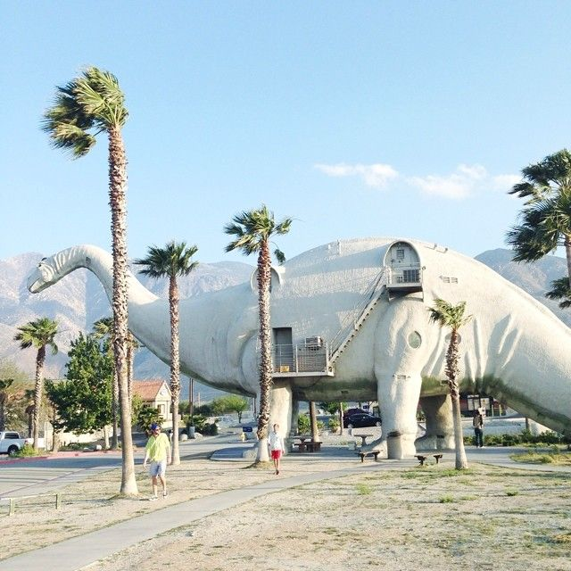 Visit quirky attractions in Palm Springs, #California.