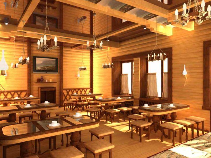 Интерьер кафе ресторанов