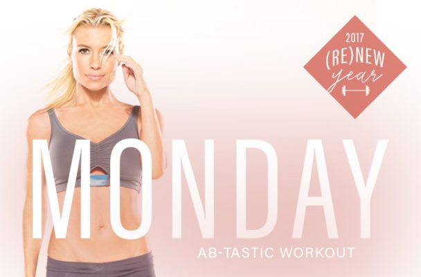 Tracy Anderson's 4-minute core sequence is a serious ab-blaster