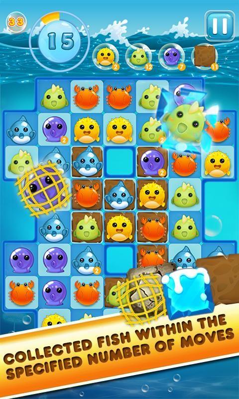 Charm Ocean - Match 3 - screenshot