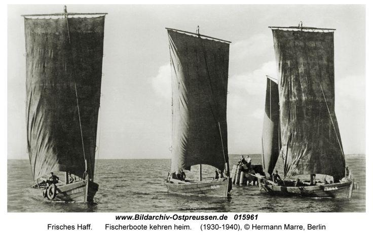 Frisches Haff, Fischerboote kehren heim
