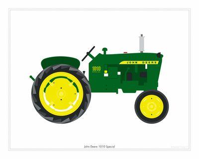 John Deere 1010 Tractor | Logos, John deere and Clip art