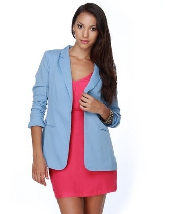 1000  images about amicae on Pinterest | Light blue blazers ...