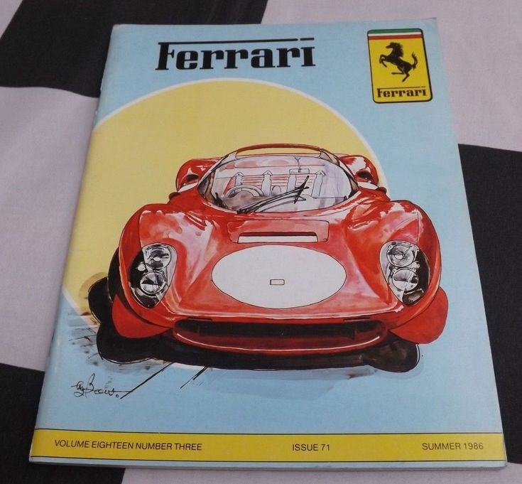FERRARI OWNERS CLUB MAGAZINE SUMMER 1986 71 FERRARI 365 CALIFORNIA 275 GTS NART