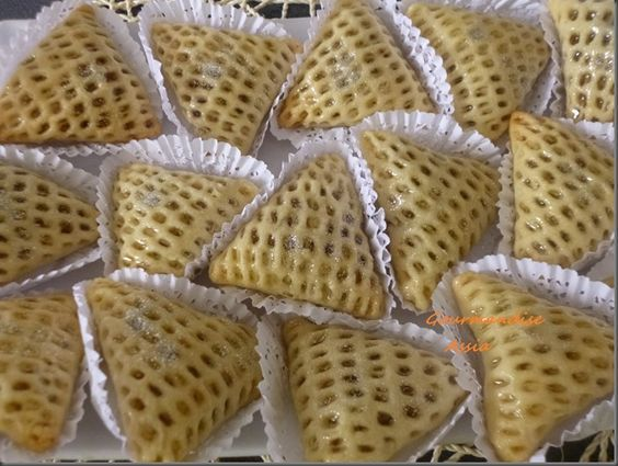Chahda aux Amandes et Noix, Nid d'Abeille ( Gâteaux Algériens)