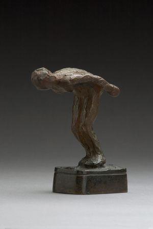 Anne Marie Carl Nielsen (1863-1945): Pige parat til udspring. 1910