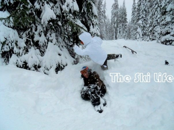 Playing in the #snow at Lolo Pass, MT/ID #Snowboarding #Montana #Idaho