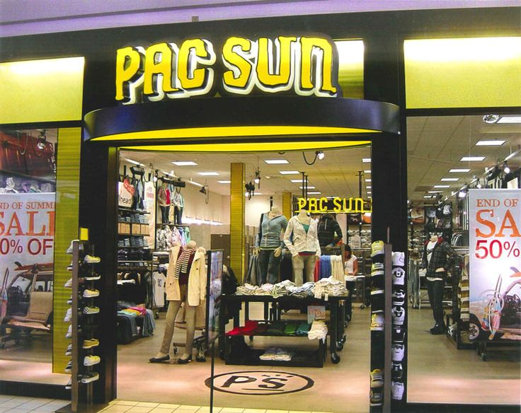 All PacSun store locations