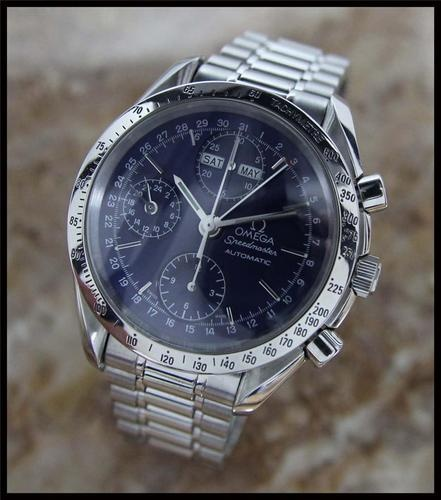 Omega Speedmaster Triple Date Calendar Automatic Chronograph, watch that sets the standard for fine timepieces