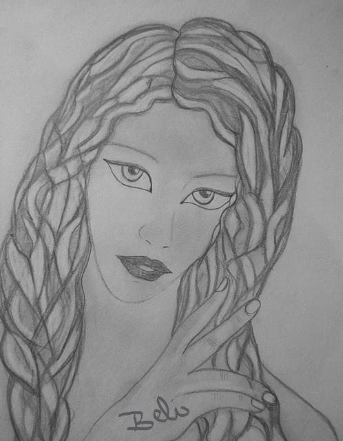 Hada Dibujo A Lápiz Mis Dibujos Sketches Y Album