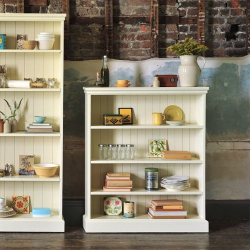 Gloucester Painted Extra Wide Bookcase (4ft) including free delivery (916.221P) | Pine Solutions