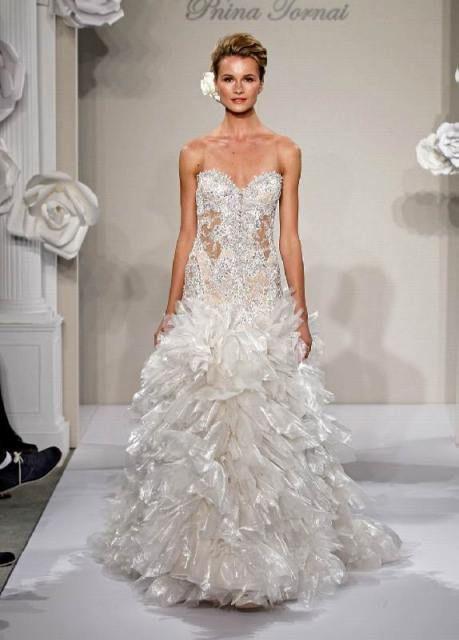 48 best Pnina tornai images on Pinterest   Wedding frocks ...