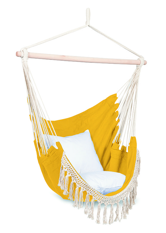 Attica Ochre Hanging Chair $84.90 #CittaDesign #garden