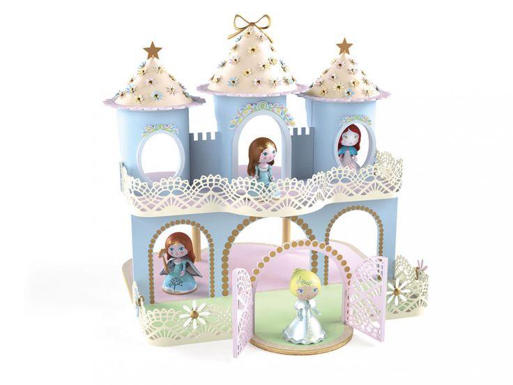 Djeco - Arty Toys Princesses - Ze Princesses Castle #djeco #arty #jouet #princesses #artytoys #enfants #bébé #idéecadeau