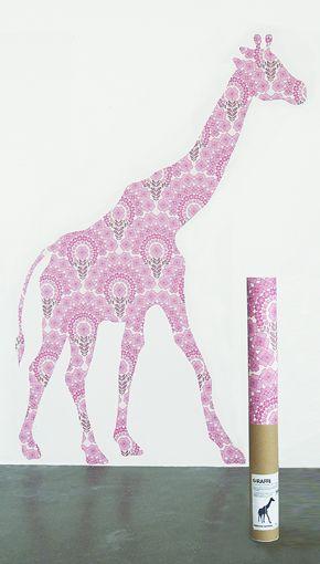 Behangdier: Giraffe