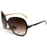 DG26 Style 1 DG Eyewear Designer Vintage Oversized Women's Sunglasses