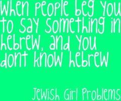 jewish girl problems - Google Search